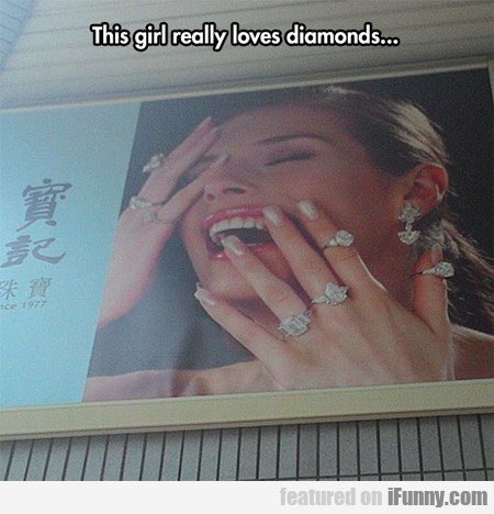 I Freaking Love Diamonds