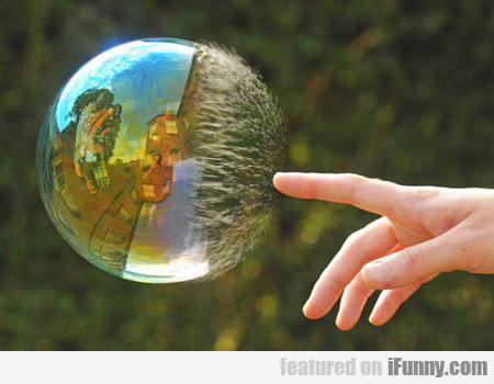 Half-popped Bubble