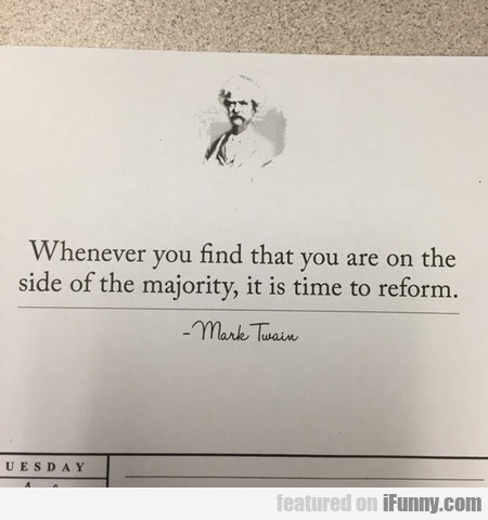 The Original Hipster Quote By Mark Twain