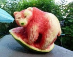Now This Is Awesome Watermelon Art