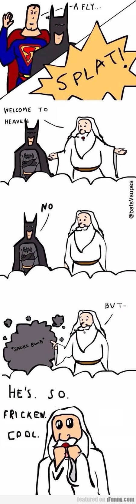 Batman Goes To Heaven