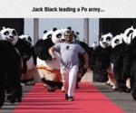 Jack Black Leading A Po Army...