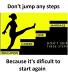 Don't Jump Any Steps Because...
