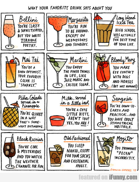 What Your Drink Really Says About You