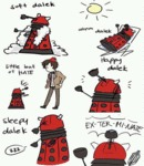 Soft Dalek, Happy Dalek
