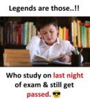 Legends Are Those...
