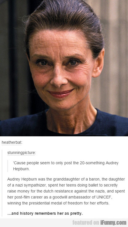 Audrey Hepburn, Ladies And Gentlemen