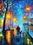 Beautiful Oil Painting By Artist Leonid Afremov