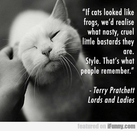 If Cats Looked Like Frogs