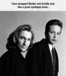 Mulder And Scully Face Swap
