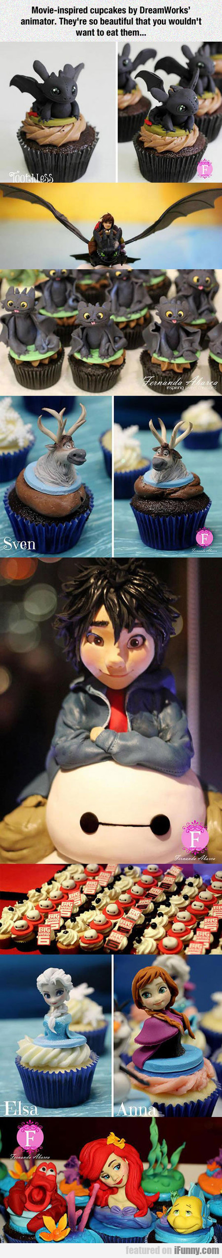 Movie-inspired Cupcakes