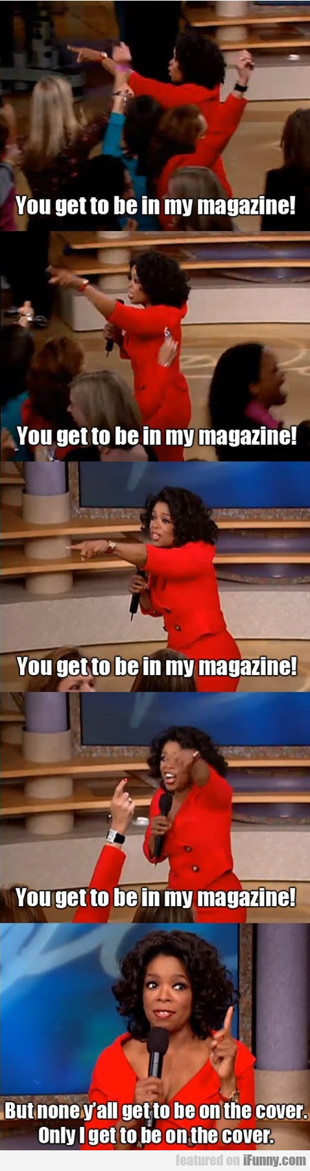 Oprah's First Law Of Publishing
