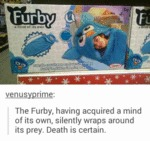 Furby Sleeping Bag - The Silent Killer