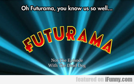 Futurama Warning
