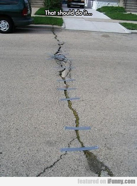 Fixing The Road