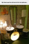 Drummer's Bathroom