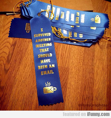 I Deserve One Of These