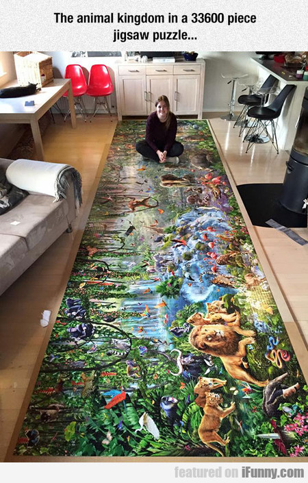 Incredibly Massive Jigsaw Puzzle