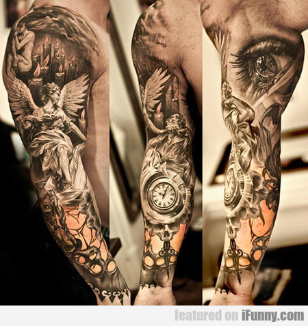 Highly Detailed Tattoo