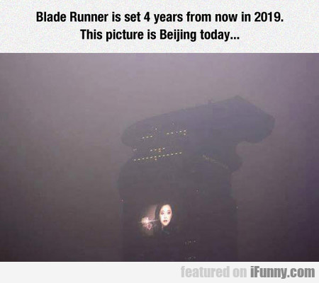 Just Like Blade Runner