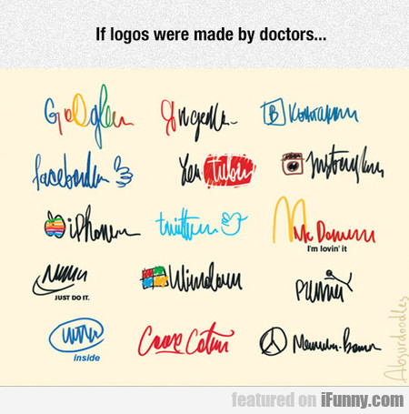 If Logos Were Made By Doctors...