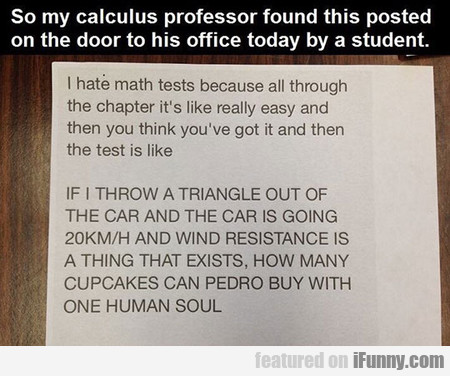 Here's The Problem With Math Tests