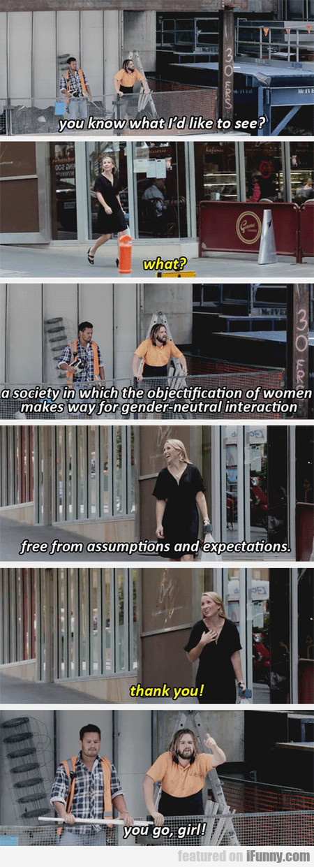 Construction Workers Yelling Things At Women