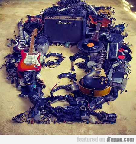 Jimi Created Using Musical Objects