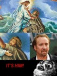 Nicolas Cage Is A Vampire... Who's Met Jesus