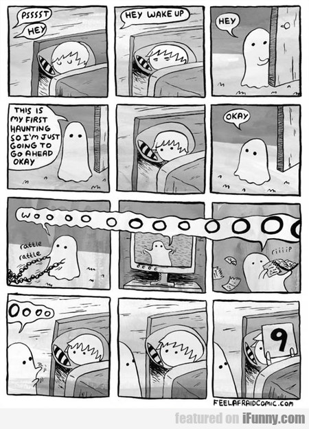 His First Haunting