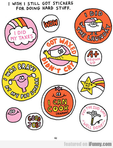 Stickers Most Of Us Should Get