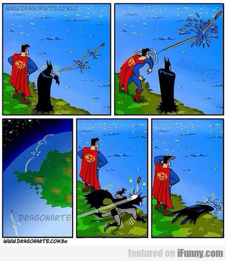 Superman Always Has To Be The Best