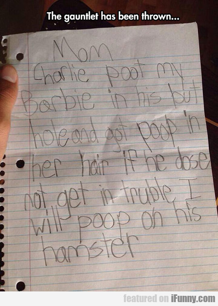 Little Girl Has Had Enough