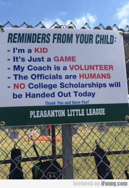Little League Problems