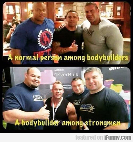 Oh Look, A Bodybuilder, That's Cute