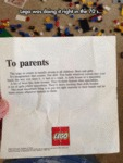 Lego Doing It Right