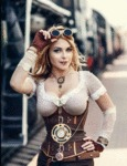 Steampunk Model - Irina Mayer