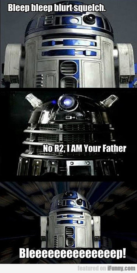 R2 Didn't See That One Coming
