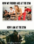 Whenever I Go To The Gym