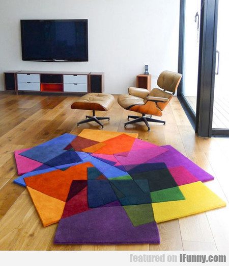Such An Amazing Colorful Rug