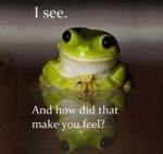 Therapy Frog Is Here To Listen