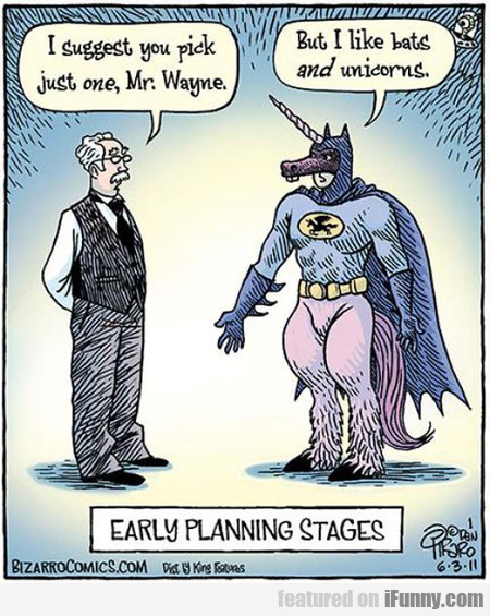Batman's Early Planning