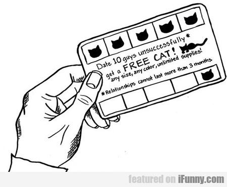 Dating Life Summed Up In A Punch Card