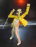 Perfect Lego Freddie Mercury