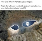 The Eyes Of God - Prohodna Cave, Bulgaria