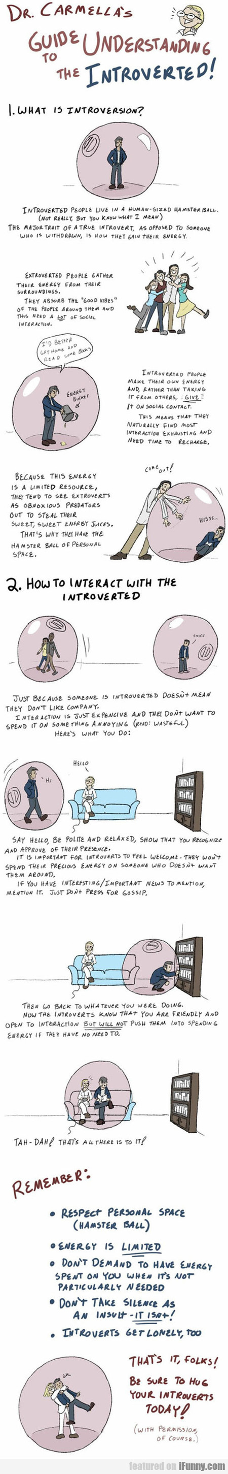 Here's How To Understand The Introverted