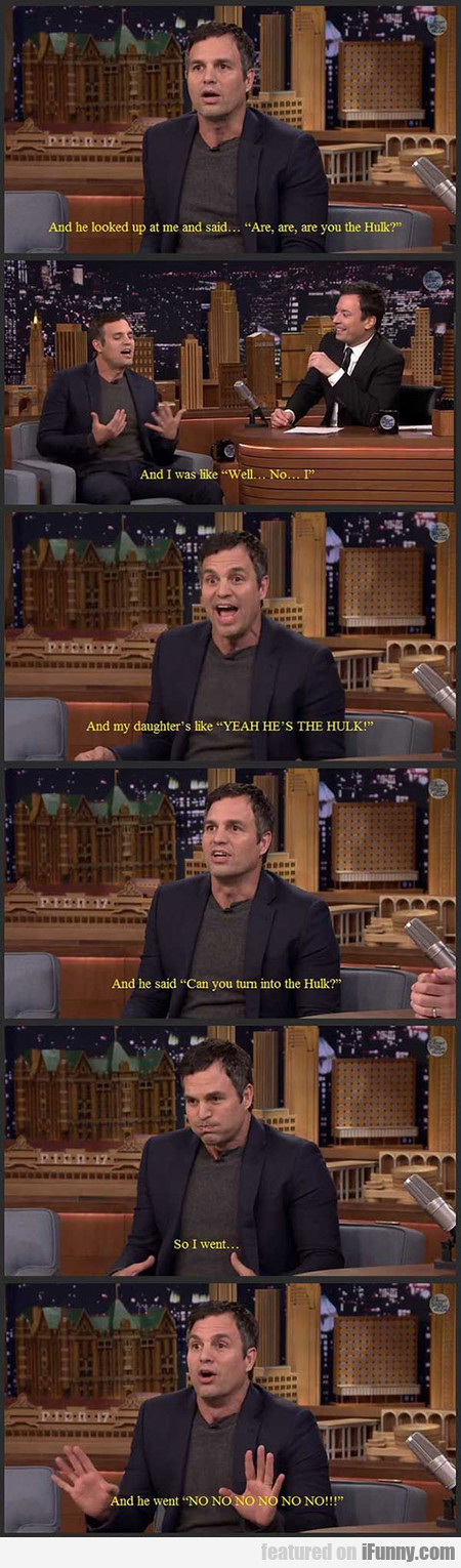 The Time Ruffalo Took His Daughter To Preschool