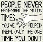 People Forget So Easily