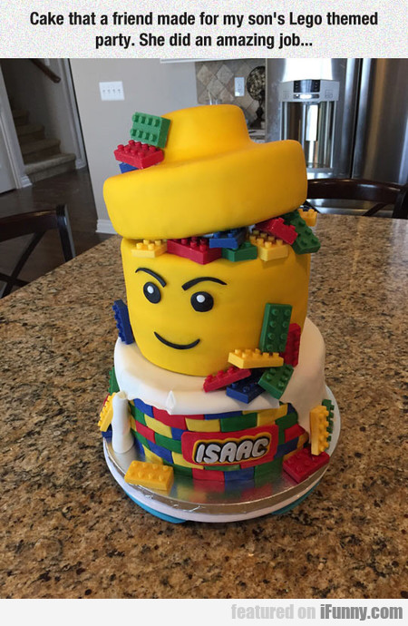 This Lego Cake Is Beyond Awesome