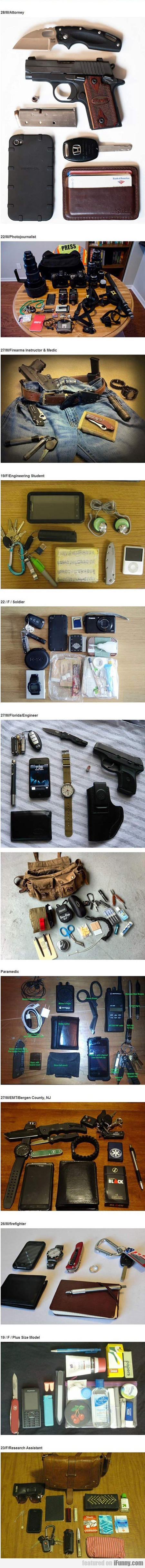 The Things That People Carry
